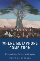 Where Metaphors Come From - Reconsidering Context in Metaphor